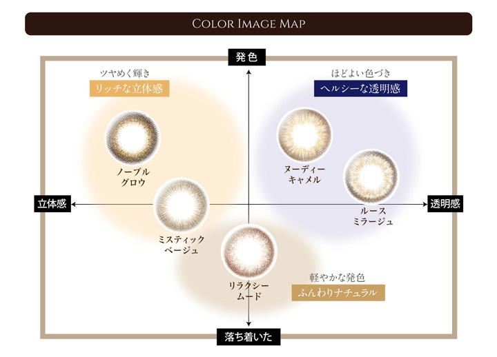 中村アンプロデュースのカラコンブランド『レリッシュ』