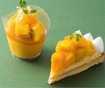 マンゴー・ドット・ショートケーキ
