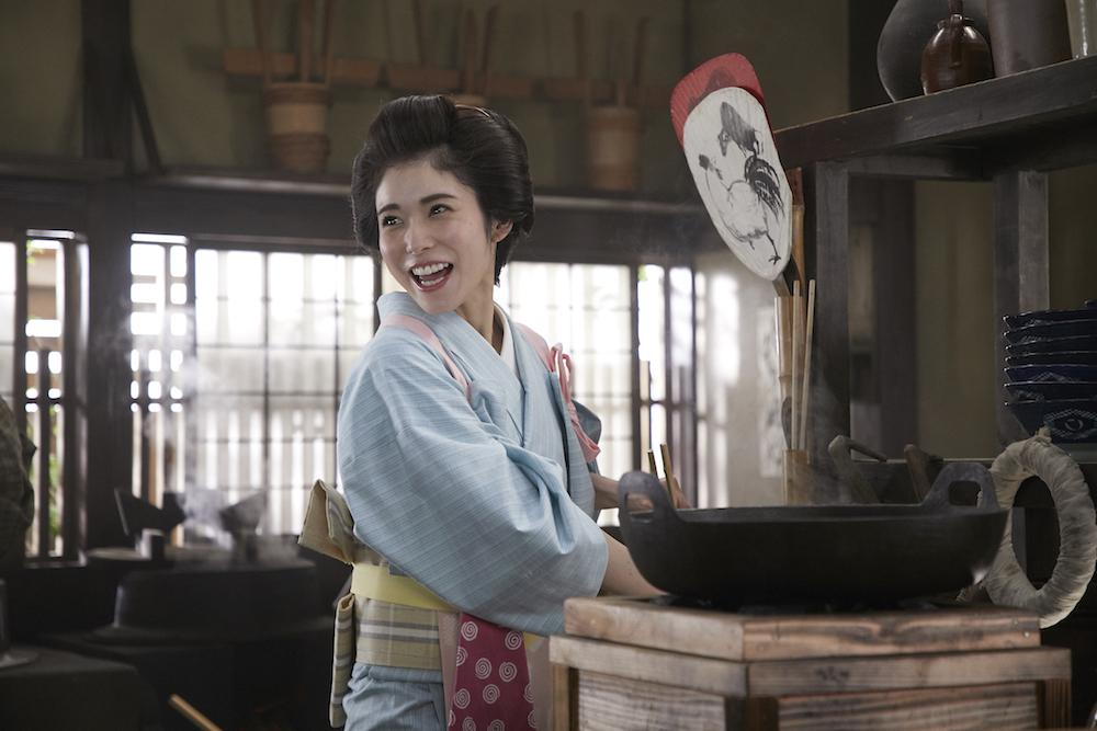 松岡茉優・丸亀製麺 うどん
