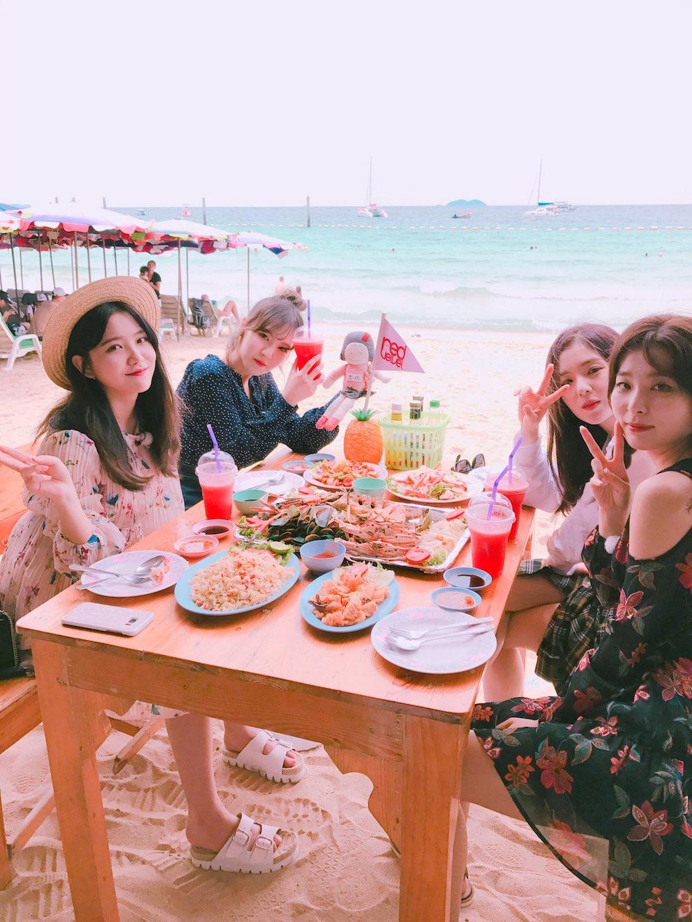 タイに女子旅するRed Velvet