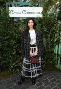 新木優子、Dior Cruise 2019 Showに登場