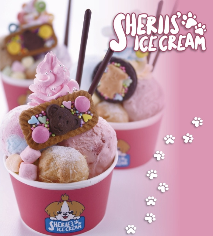 デコレーションアイス専門店「SHERIE'S ICE CREAM」(シェリーズアイスクリーム)