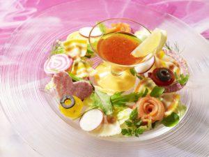 カラフルフロートサラダ