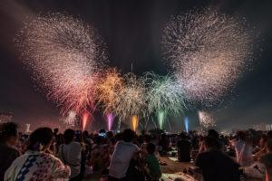 足立の花火(第40回)2018年