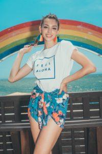 Celine Farach(セリーヌ・ファラッチ) @FEEL ALOHA Cafe(フィールアロハカフェ)江ノ島 Rainbow