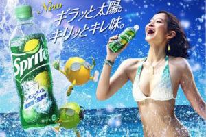 入夏・スプライト CM
