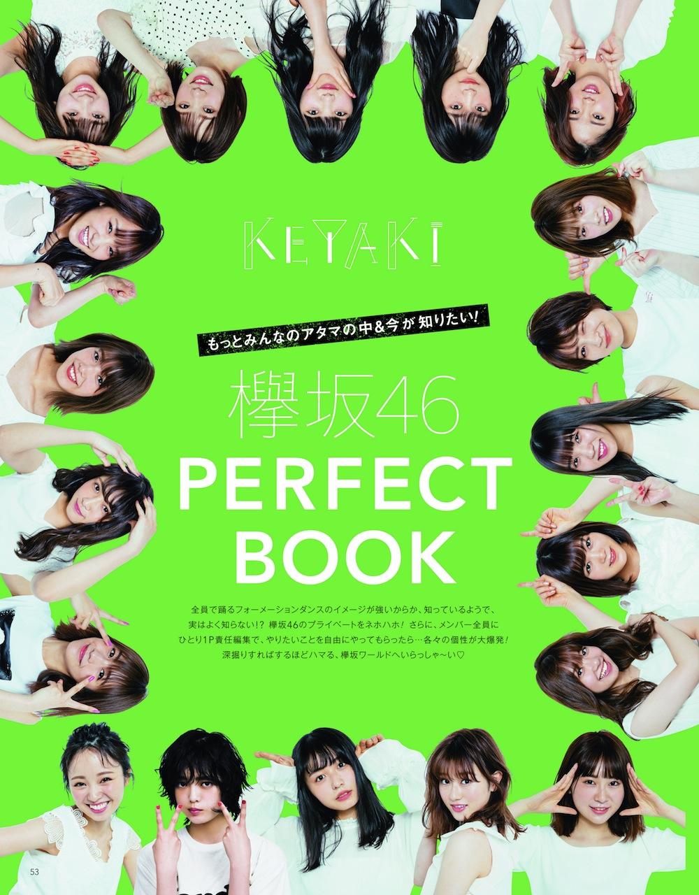 「欅坂46 PERFECT BOOK」
