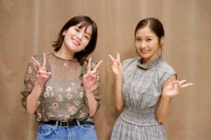 筧美和子と佐野ひなこ