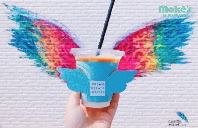 ハワイ・カイルアで行列が出来る人気のレストラン「Moke's Hawaii(モケス ハワイ)」の「天使の羽」 Global Angel Wings Project