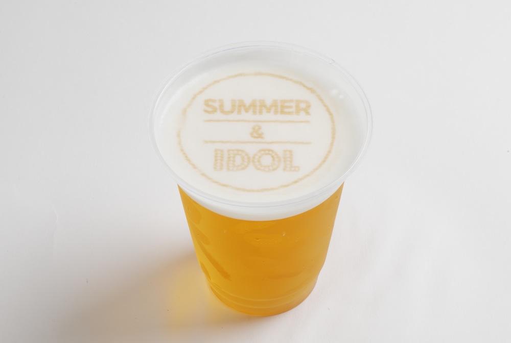 ビールアート @由比ヶ浜超絶カワイイビーチカフェ 「SUMMER&IDOL」