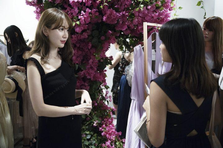 こじはる(小嶋陽菜)プロデュースのファッションブランド「Her lip to」(ハーリップトゥー)ポップアップストア