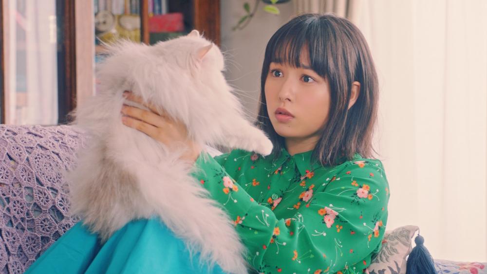 桜井日奈子さん(いい部屋ネット新CM『ペット』篇)