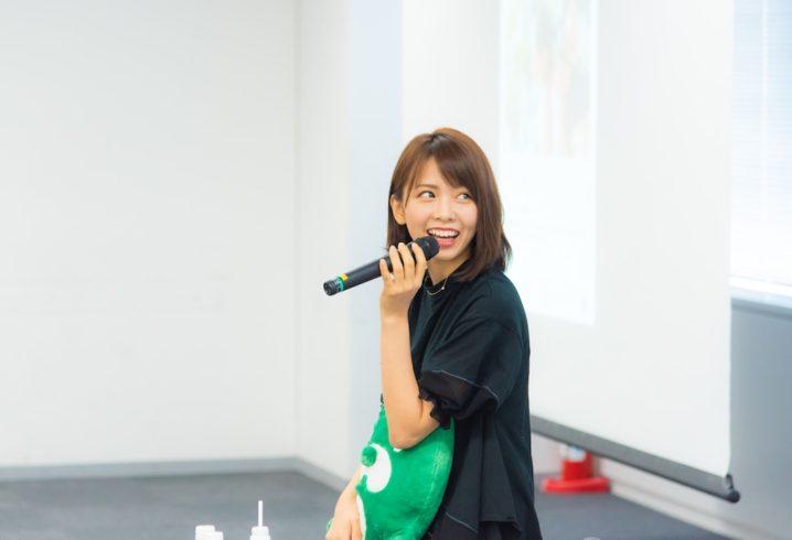 西村歩乃果(ラストアイドルで結成されたユニット「Love Cocchi」メンバー)・「SNSで大人気の西村歩乃果が教える~SNSで人気になる講座~」