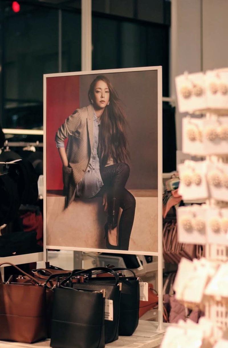 安室奈美恵「Namie Amuro x H&M」秋の新コレクション・ローンチ(H&M 渋谷店)