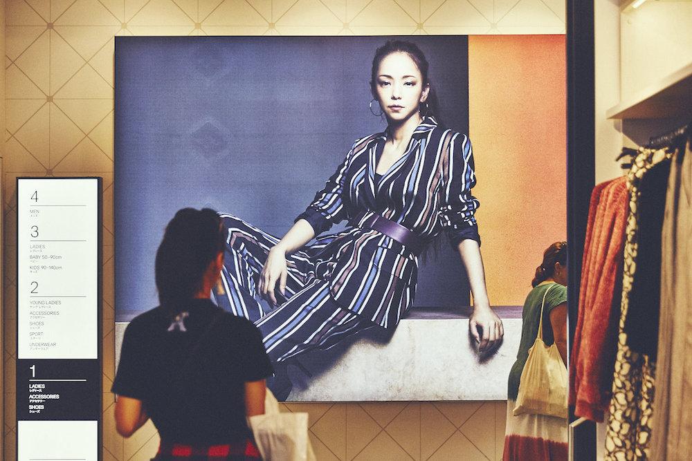 安室奈美恵「Namie Amuro x H&M」秋の新コレクション・ローンチ(H&M渋谷店)