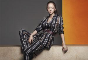 安室奈美恵さんがアンバサダーを務める「Namie Amuro × H&M」のキャンペーン第二弾