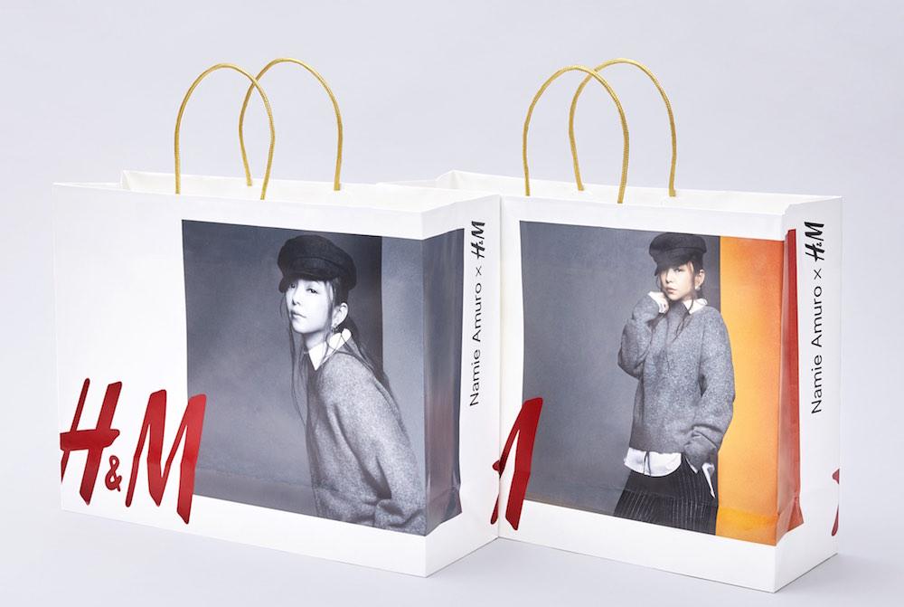 「Namie Amuro x H&M」秋の新コレクション(安室奈美恵x H&Mコラボアイテム)