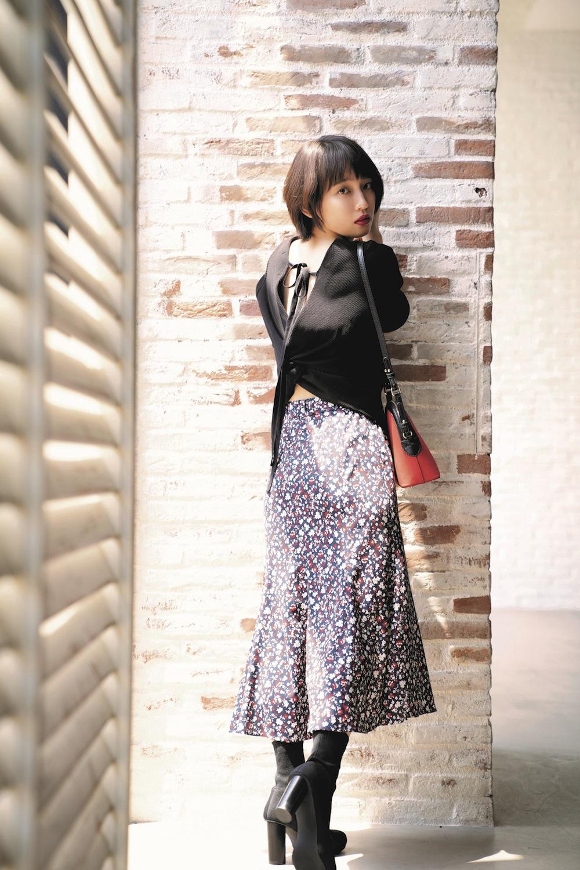 女優・吉岡里帆が着る、 COCO DEAL(ココ ディール)秋のビジュアル公開!