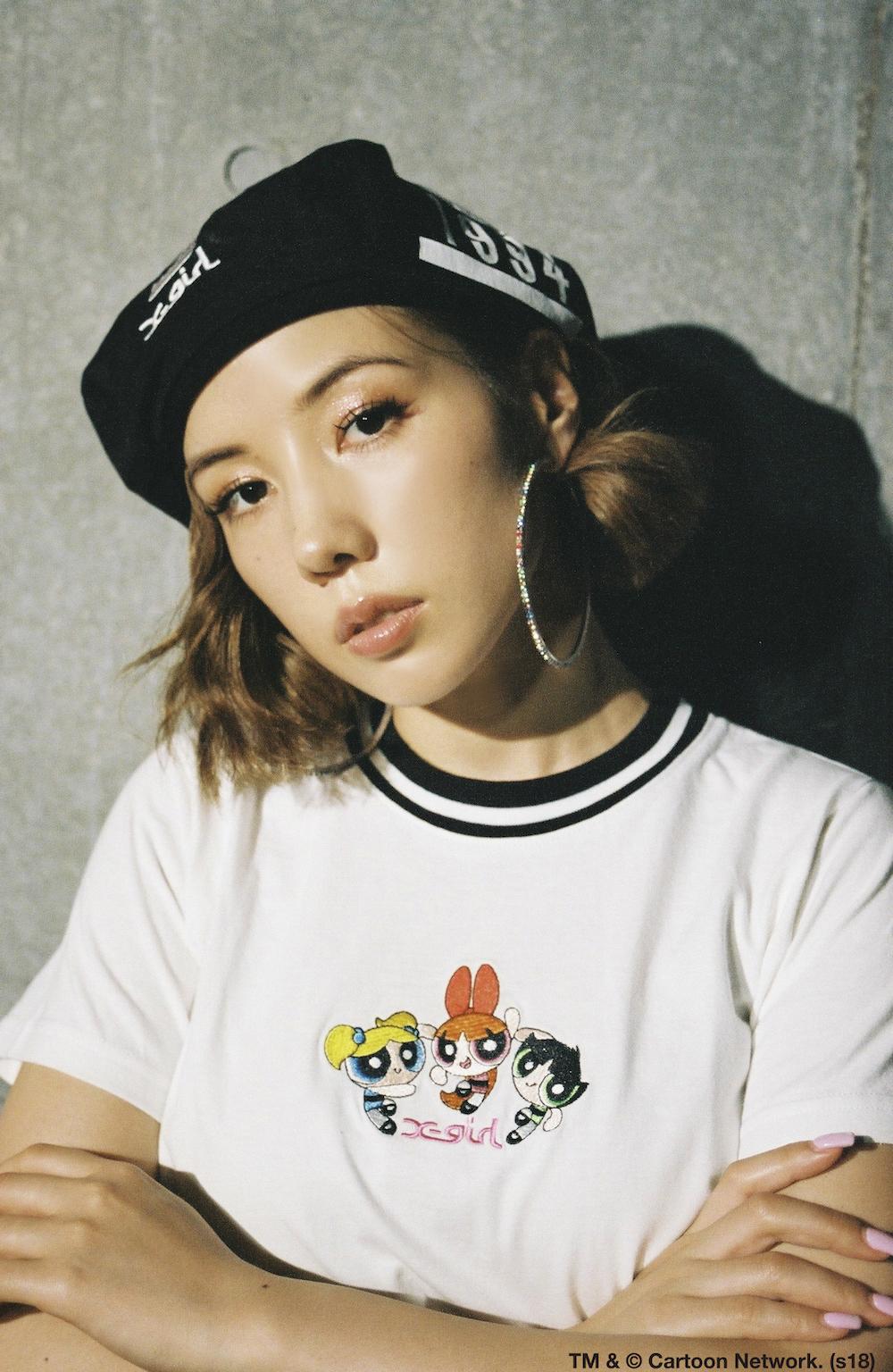 仲里依紗 x X-girl