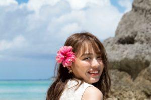 内田理央・沖縄リゾートウエディング
