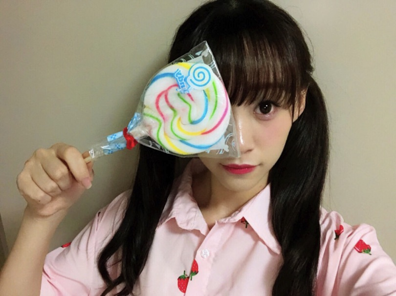 音嶋莉沙さん(=LOVE(イコールラブ)メンバー)キャンディー