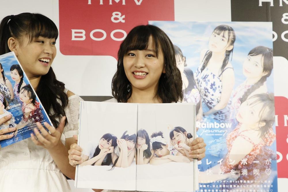 たこやきレインボー・沖縄で撮影した1st写真集「Rainbow journey」発売記念イベント