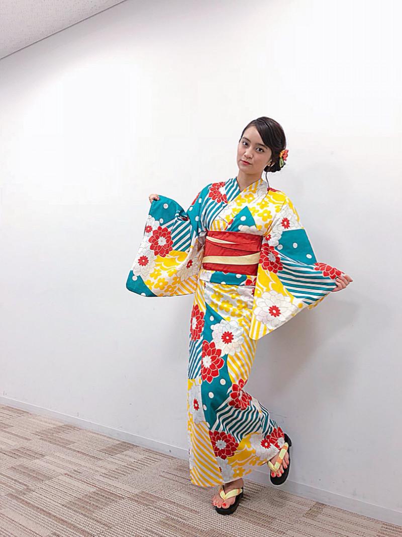 岡田結実 浴衣(西善商事)