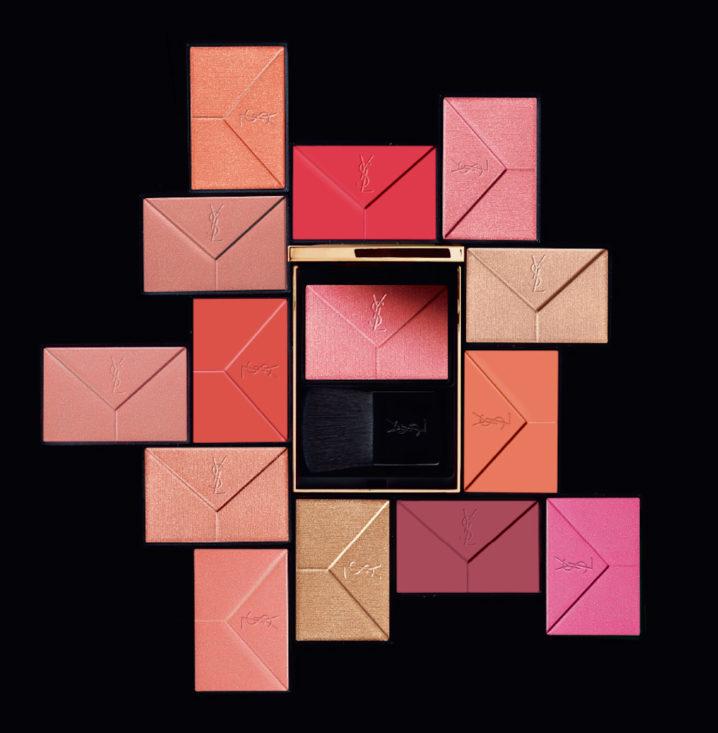 イヴ・サンローラン(Yves Saint Laurent)「ブラッシュクチュール」&「ハイライタークチュール」