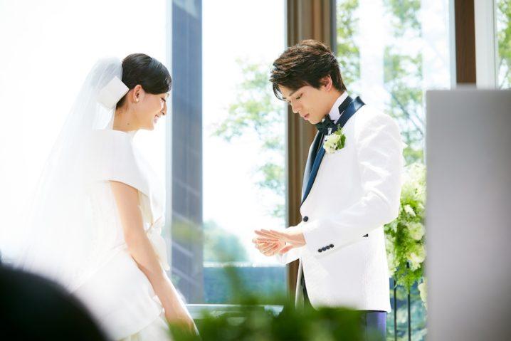吉川愛(女優)と新田真剣佑(俳優)(マイナビウェディングCM)Wedding(結婚式)