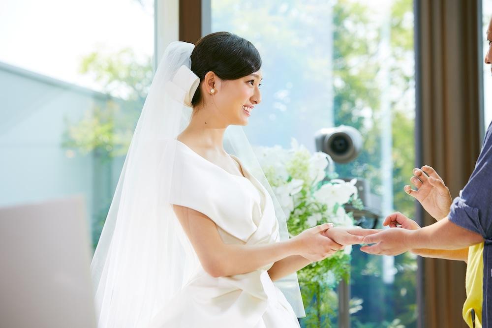 吉川愛(女優)(マイナビウェディングCM)Wedding(結婚式)