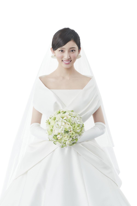 吉川愛(女優)(マイナビウェディングCM)Wedding(結婚式) 新婦
