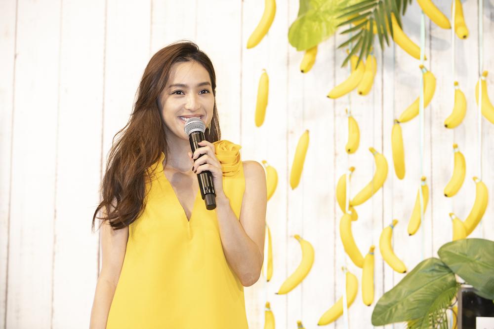 中村アン @『バナナビューティーカロリーカフェ』オープニングPRイベント banana