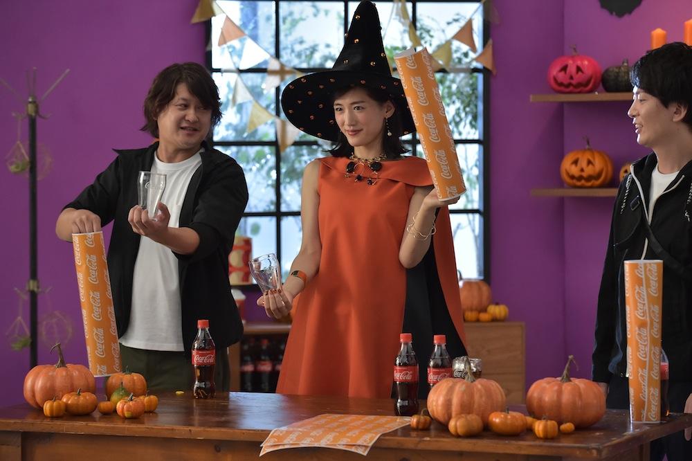 綾瀬はるか(女優) @コカ・コーラ・ハロウィン halloween CM making