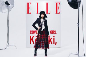 Kōki, 出演!『ELLE(エル)』のキャンペーンムービー