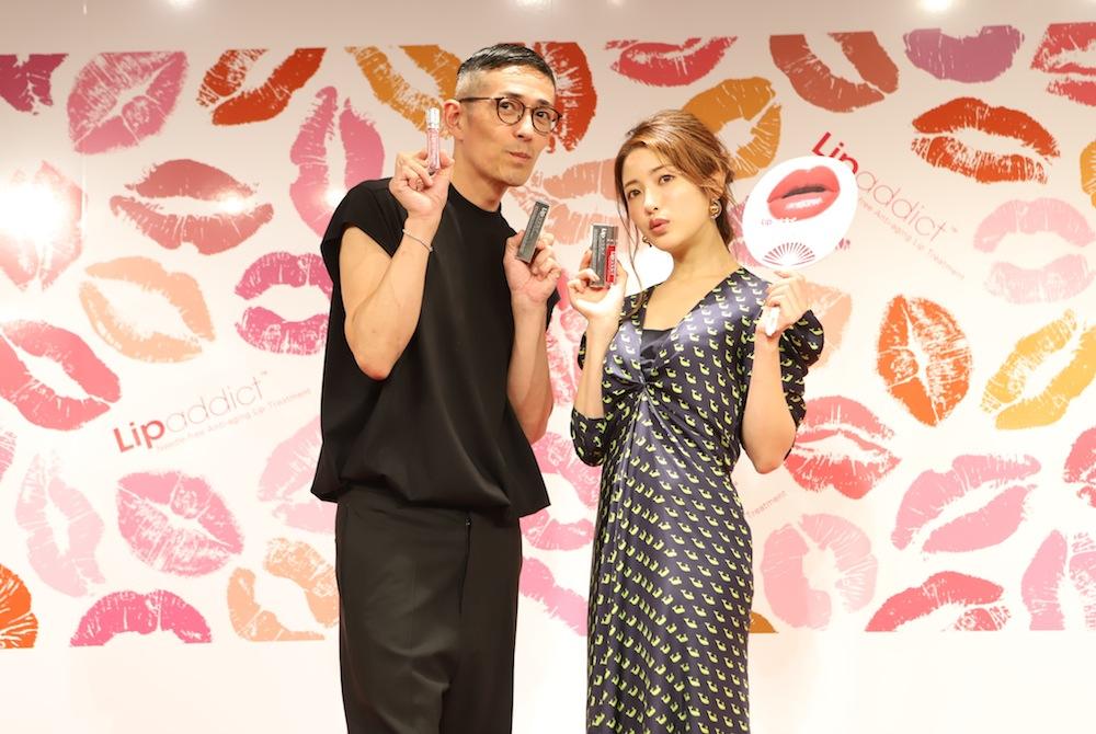 くみっきー、メイクアップアーティスト・ピカ子さんとトークショーに登壇!【人気リッププランパーLipaddictを使ったメイクアップイベント】