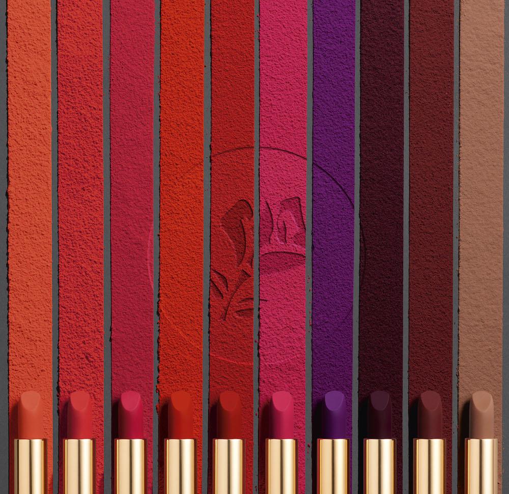 lancome(ランコム)No.1のアイコンリップ「ラプソリュ ルージュ」から、鮮烈マットな発色の「ドラママット テクスチャー」
