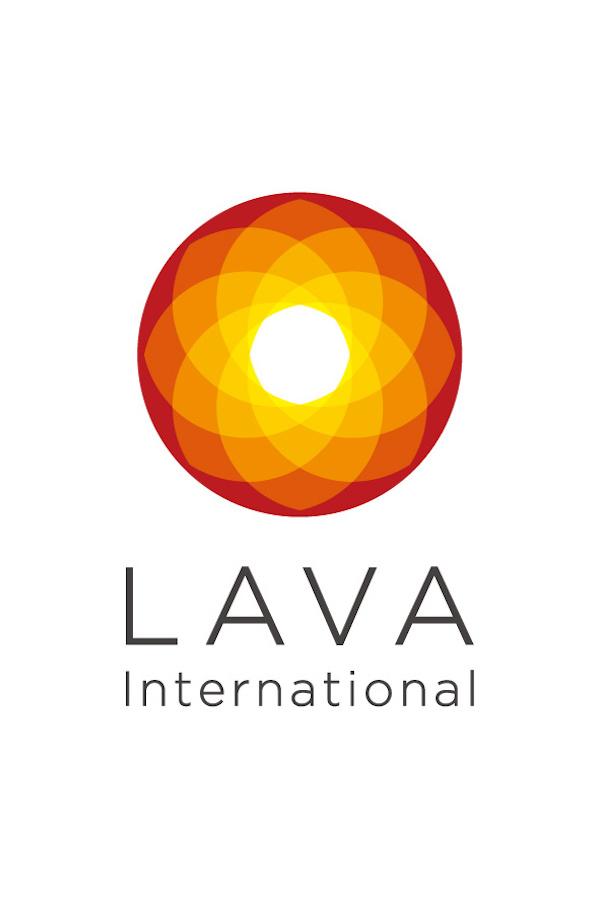 ホットヨガスタジオ「LAVA」logo