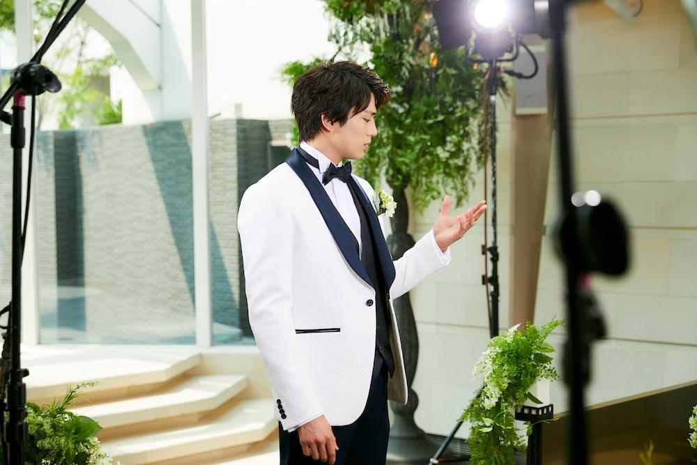 新田真剣佑(俳優)(マイナビウェディングCM)Wedding(結婚式)