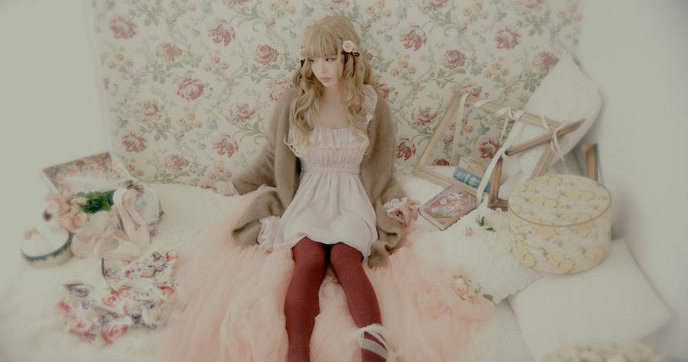 最上もが・出演MV「してみタイッ!」あまかわメルヘン×杢リブ柄カラータイツ