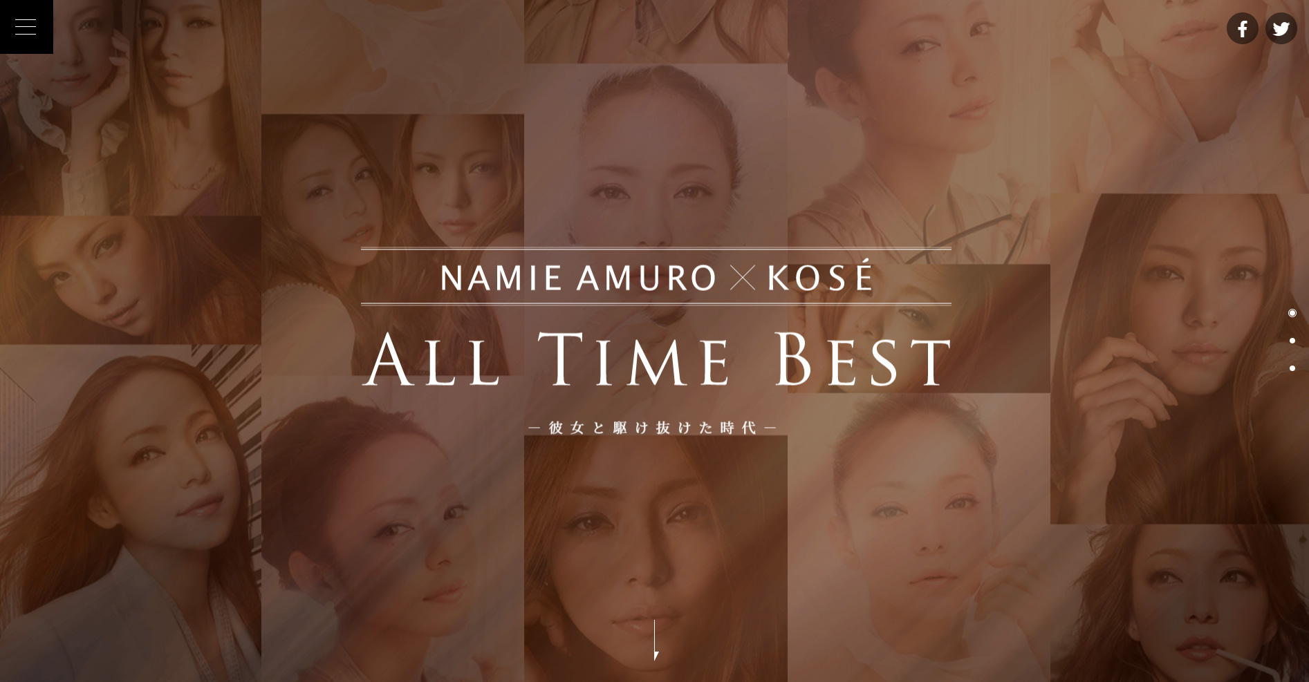 NAMIE AMURO×KOSÉ ALL TIME BEST