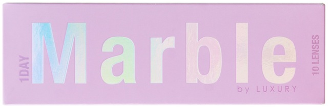 """藤田ニコルプロデュース・カラーコンタクトレンズブランド""""Marble1day by LUXURY"""" <マーブルワンデー バイラグジュアリー>"""