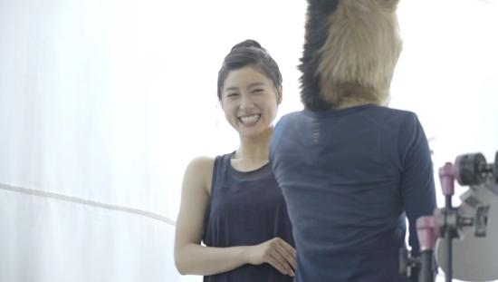 土屋太鳳・ホットヨガスタジオLAVAのCM ブランドアンバサダー(女優、モデル)