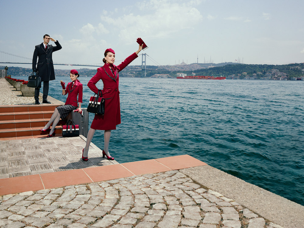 Turkish Airlines uniform(ターキッシュ エアラインズ・客室乗務員のユニフォーム)