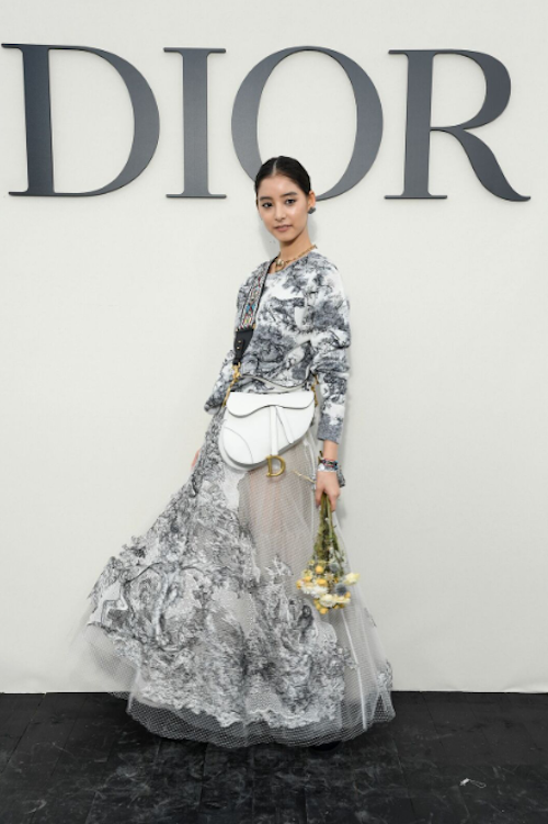 新木優子 @DIOR(ディオール) SPRING-SUMMER 2019 READY-TO-WEAR SHOW
