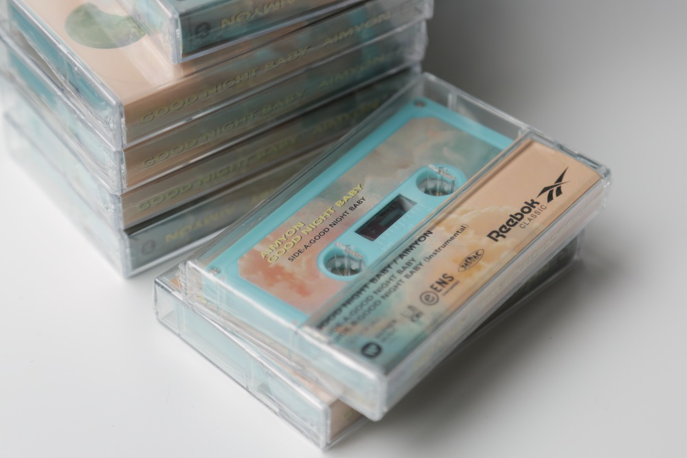 カセットテープ @あいみょん × Reebok CLASSICコラボ楽曲「GOOD NIGHT BABY」発表記念サプライズライブ
