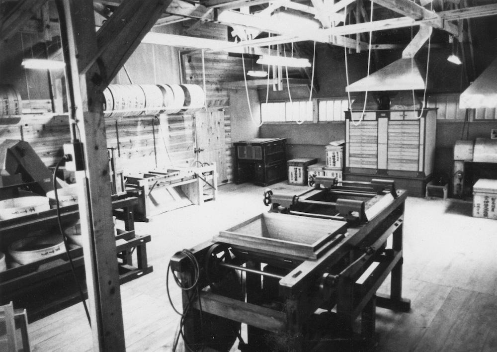 伊藤久右衛門 当時の茶工場