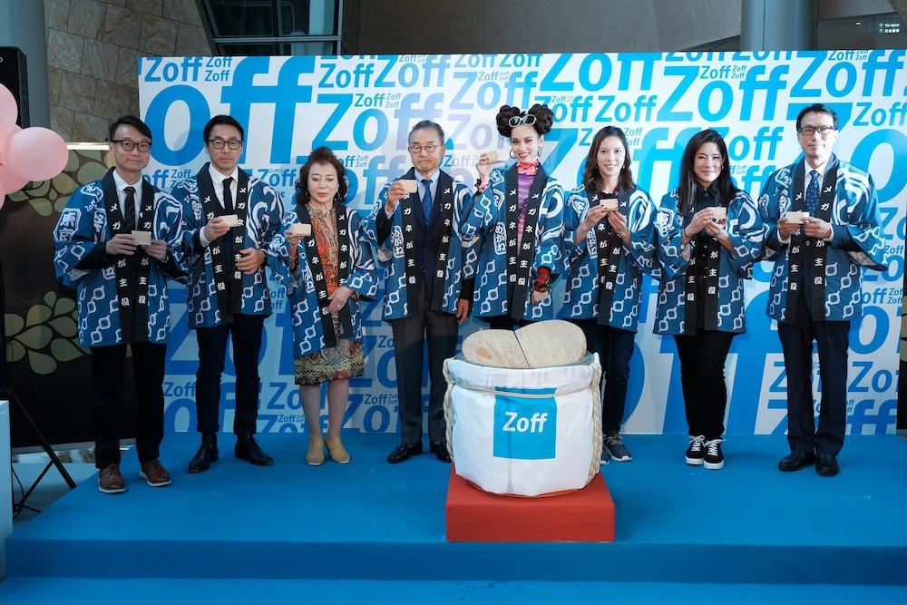 水原希子(モデル)、メガネブランド「Zoff(ゾフ)」香港・旺角(モンコック)オープニング記念イベントに登場!
