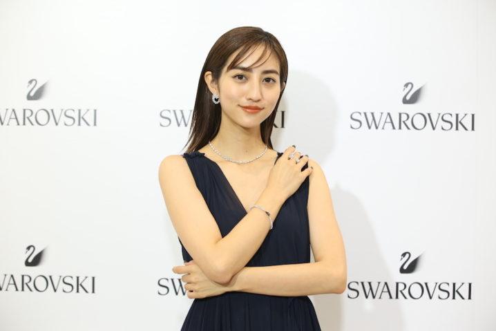 堀田茜、スワロフスキー心斎橋リニューアルオープニングイベントに登場!2018年11月1日