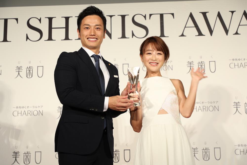 鈴木奈々「BEST SHINIST AWARD 2018」にて(2018年11月7日)