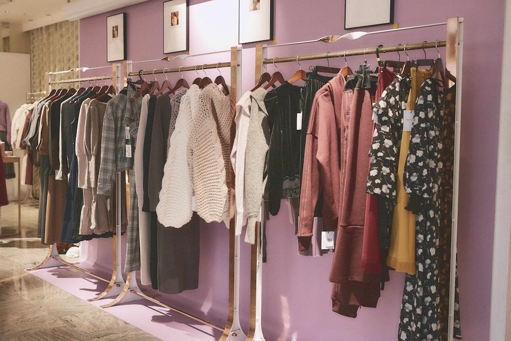 こじはる(小嶋陽菜)プロデュースのファッションブランド「Her lip to」(ハーリップトゥー)・伊勢丹新宿店Limited Store